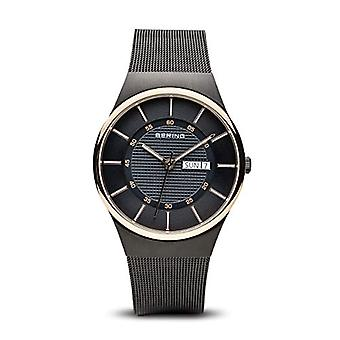 Bering Analog quartz men with stainless steel strap 12939-166