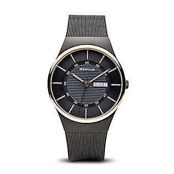 Bering analogique quartz homme acier inoxydable bracelet 12939-166