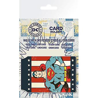 DC Comics Retro Superman Card Holder