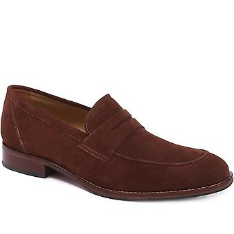 Jones Bootmaker Mens James Leather Penny Loafers