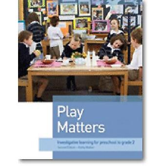 Play Matters - Investigative and Exploratory Learning for Preschool to