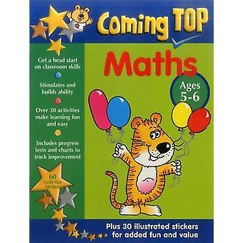 Próxima parte superior - Matemáticas - Edades 5-6 - 60 Gold Star Pegatinas - Plus 30 Illustr