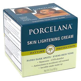 Porcelana la piel aclarar crema día 3 oz