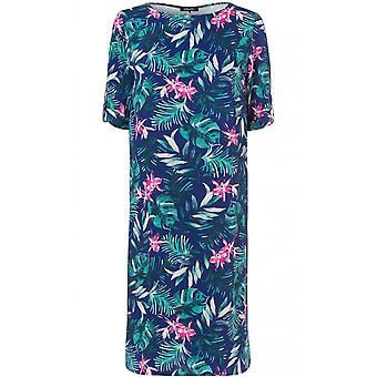 Olsen Floral Print Shift Dress