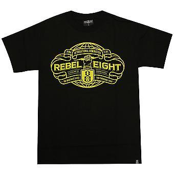 Rebel8 International Domination T-shirt Black