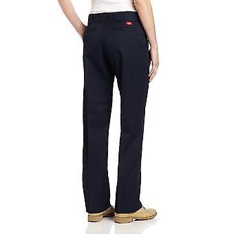 Dickies Women's Original Work Pant with Wrinkle And Stain Resistance,Dark Nav...