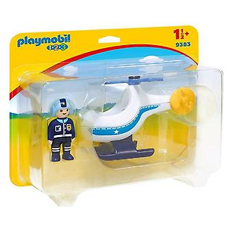 Helikopter 1.2.3 Playmobil 9383 (2 pc's)