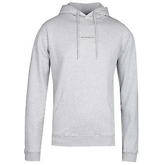 NN07 Barrow 3385 No Nationality Hooded Sweatshirt - Grey Marl