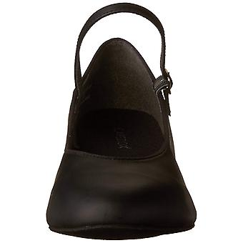 Capezio Women's 459 Suede Sole Jr. Footlight Character Shoe