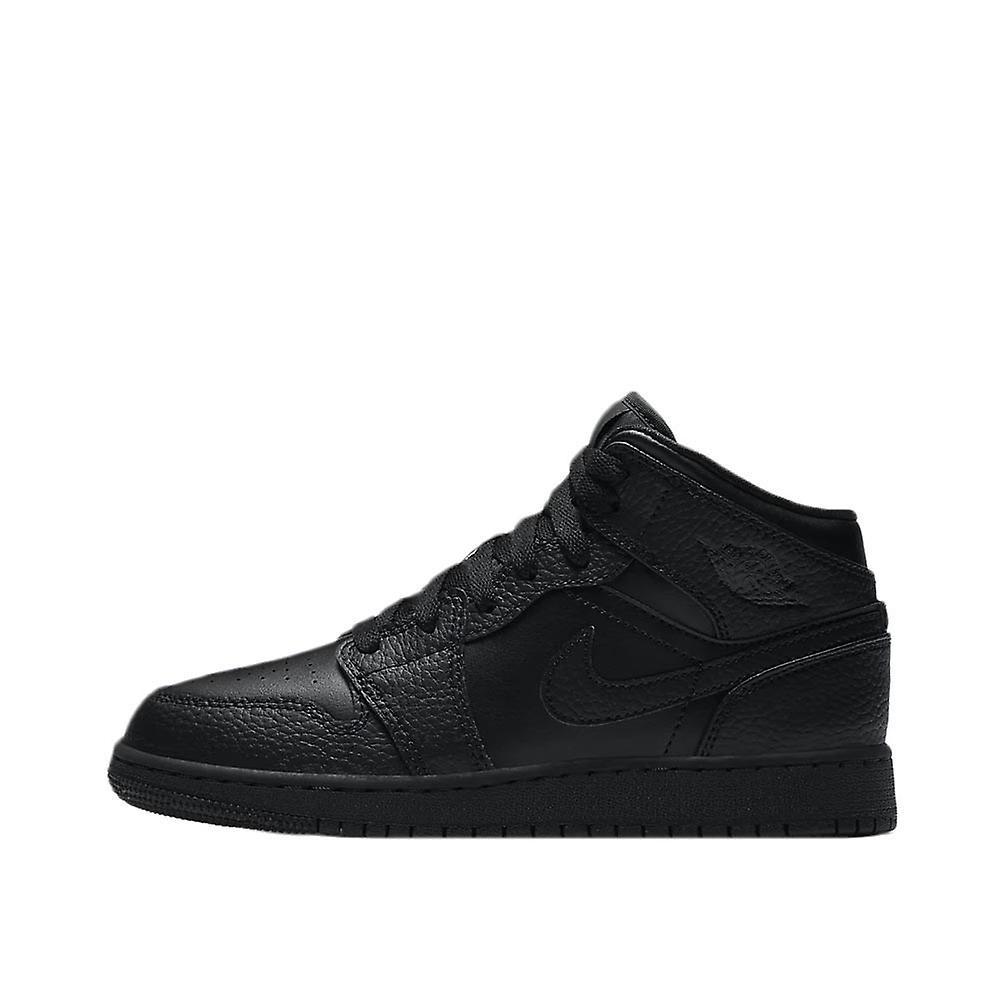 Nike Air Jordan 1 Mid Gs 554725091 Universelle Barnesko Hele Året