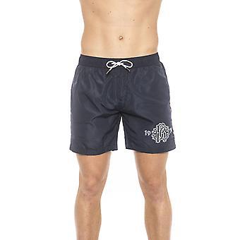 Roberto Cavalli Mäns Blue Swim Shorts