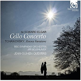 Elgar/Tchaikovsky - Elgar: Cello Concerto; Tchaikovsky: Rococo Variations [CD] USA import