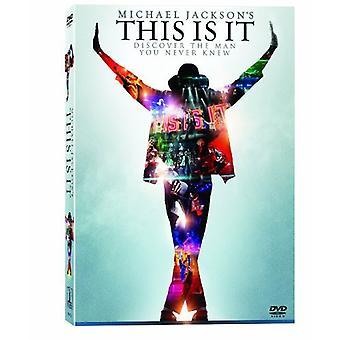 Michael Jackson - Michael Jackson This Is It [DVD] USA import