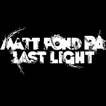 Matt Pond Pa - Last Light [CD] USA import