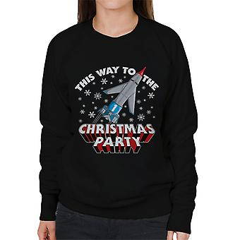 Thunderbirds This Way To The Christmas Party Women's Sweatshirt