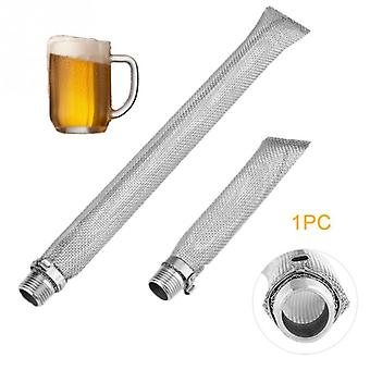Stainless Steel Reusable Multi Function Mesh Strainer - Beer Filter Brewing Kettle Bazooka Screen