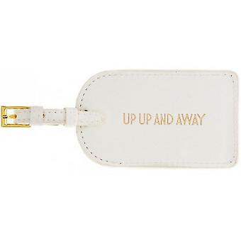 Up Up And Away Luggage Tag