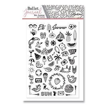 Aladine Bullet Journal Foam Timbres Été
