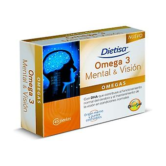 Omega 3 Mental And Vision 45 softgels