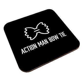 Alan Partridge Action Man Bow Tie Coaster