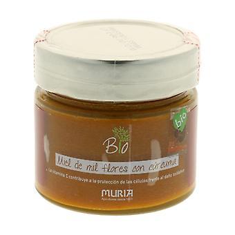 Honey Mil Flowers and Turmeric Bio 250 g