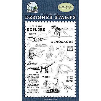 Carta Bella Dinos Regel klare frimærker