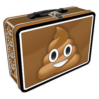 Poop emoji Tin Carry Kaikki Fun Box