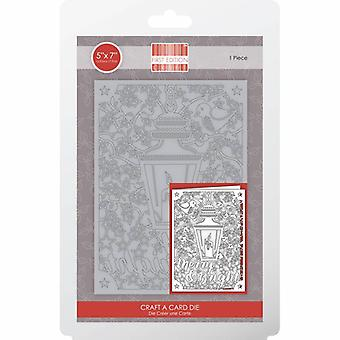 Première édition Christmas Craft A Card Die - Merry & Lumineux