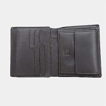 Primehide Leather Mens Card Holder Wallet RFID Bloqueando carteira de cartão gents 3312