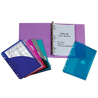 30100BNDL2EA, Mini Size Binder Starter Kit (Color May Vary) (Set of 2 Binder Kits)