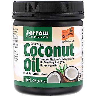 Jarrow Formulas, Organic Extra Virgin Coconut Oil, Expeller Pressed, 16 fl oz (4