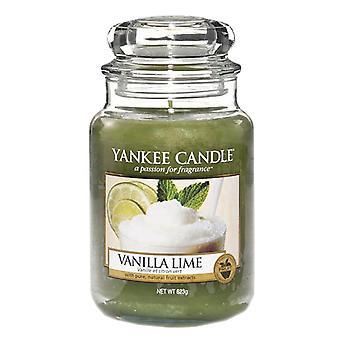 Yankee Candle Large Jar Candle Vanilla Lime