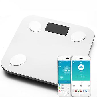 Body Fat Scale Floor Scientific Smart Electronic Led- Digitaal Gewicht Badkamer