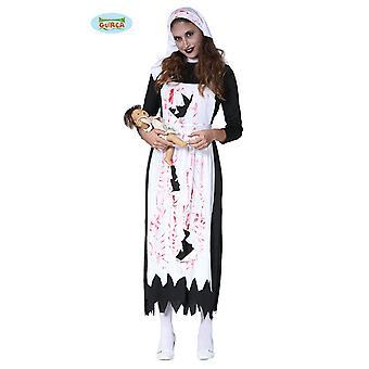 Zzcostumes Guirca traje de enfermera zombie para mujer