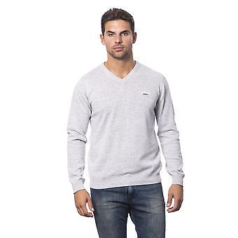 Roberto Cavalli Sport Grigiomelange Sweater RO816198-XL