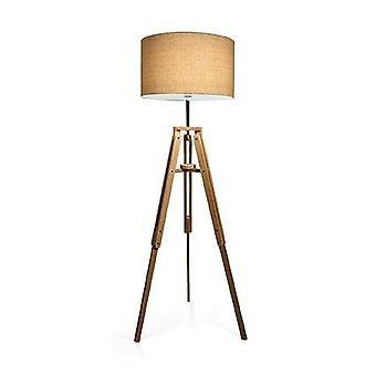1 Lys gulvlampe Natural, E27