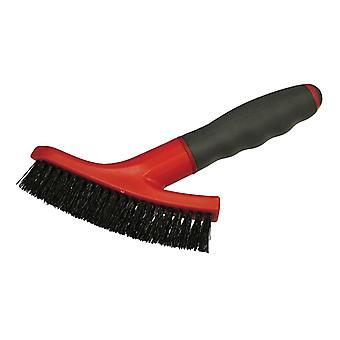 Faithfull Grout Scrubbing Brush Soft-Grip Handle FAITLSGSCRUB