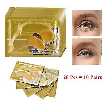 Beauty Gold Crystal Collagène Eye Mask, Acne Korean Collagène Masque Soins de la peau