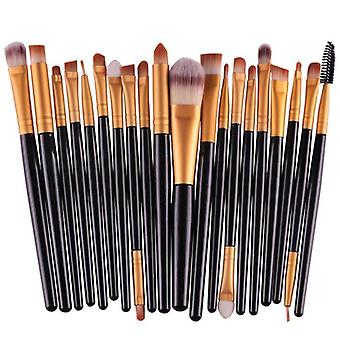 20pcs/set Makeup Brushes Pro Blending Eyeshadow Powder Foundation Eyebrow Lip Eyeliner Make Up Brush Cosmetic Tool