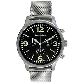 Aristo Men's Messerschmitt Watch Aviator Chronograph ME-3H205M Stainless Steel