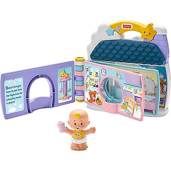 Fisher-Price Little People Babys Day Storybook And Playset