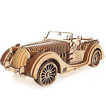 Roadster UGears 3D Wooden Model Kit