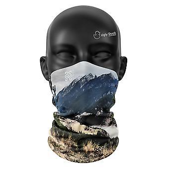 Kanada Farben Snood Gesicht Maske Schal Neckerchief Kopf Bezug Tube Buff Unisex