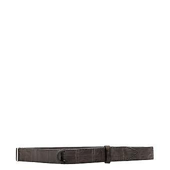 Orciani Nb0031suedecocco005 Men's Brown Leather Belt