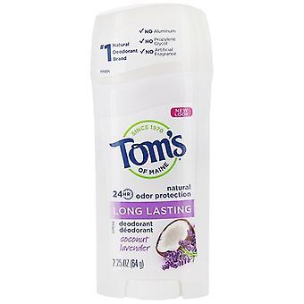 Tom's of Maine Natural Long Lasting Deodorant Coconut Lavender