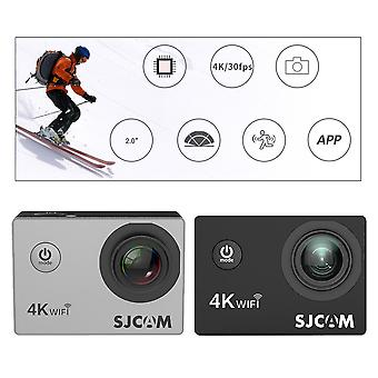 Caméra d'action, Full Hd Allwinner 4k 30fps Wifi 2.0' Screen Mini Helmet Cam,