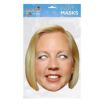 Mask-arade Deborah Meaden Celebrities Party Face Mask