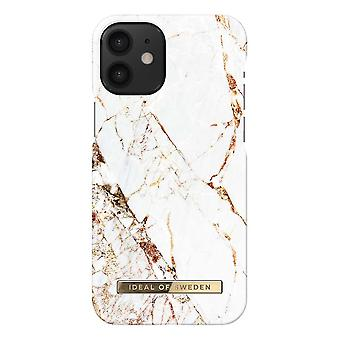 iDeal Of Sweden iPhone 12 Mini Shell - Carrara Gold