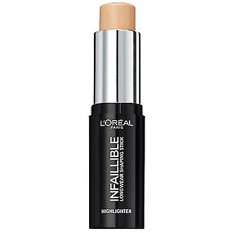 L'Oreal  Infallible Highlighter Shaping Stick - Gold Is Cold 9g 502