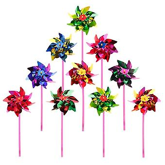 Plastic Wind Pinwheel And Decoration (16*27cm)
